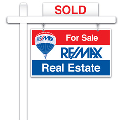 RE/MAX For Sale Sign
